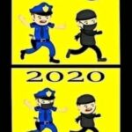 Police in 2019 and 2020