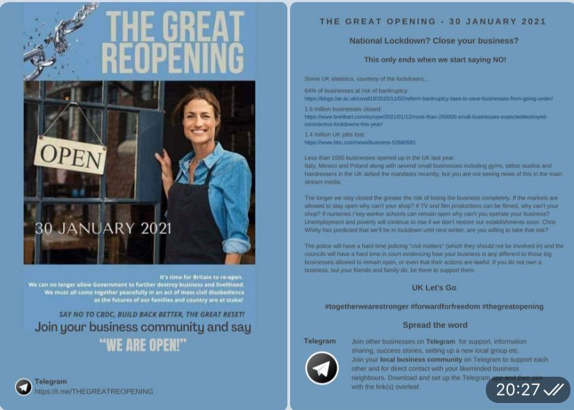 The Great Reopening UK