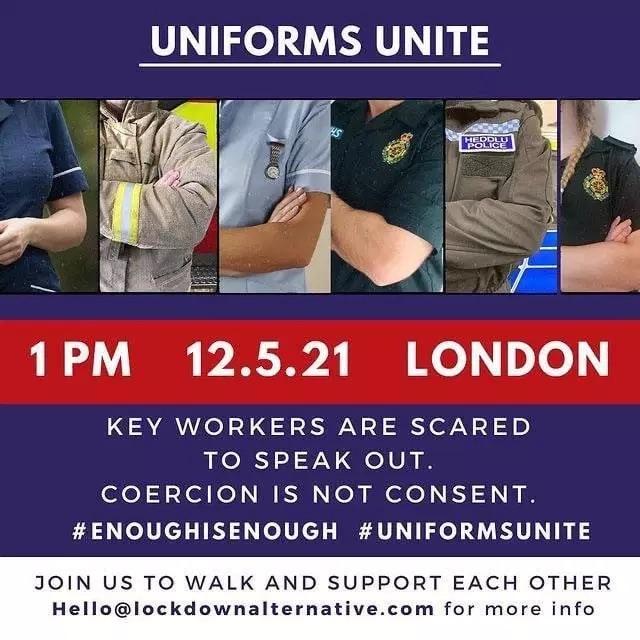 Uniforms Unite, London, 12/5/2021, 1pm