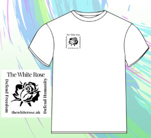 White Rose UK T-Shirt with White Rose logo