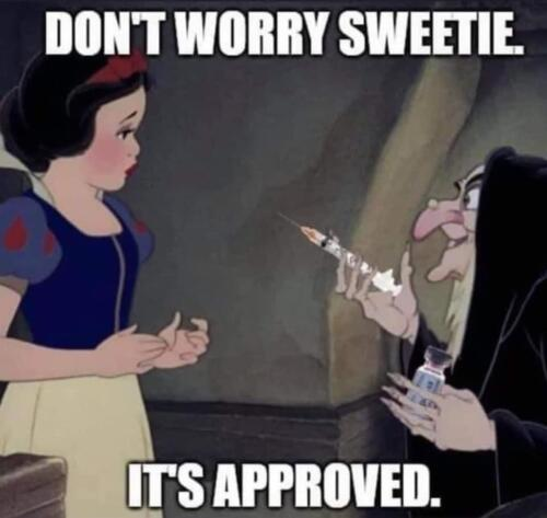 Don't worry, Sweetie. It's approved.