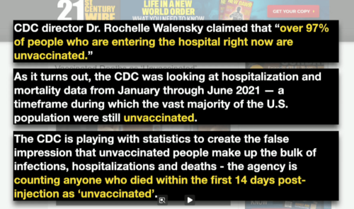 Lying About Unvaccinated