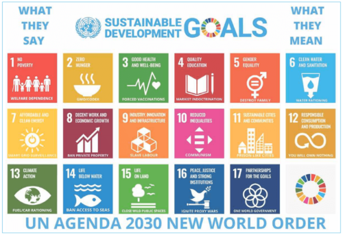 Agenda 2030: What They Say And What They Mean